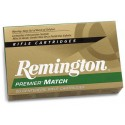 Munición metálica REMINGTON PREMIER MATCH - 308 Win. - 168 grains