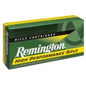 Munición metálica REMINGTON HIGH PERFORMANCE RIFLE - 222 Rem. - 50 grains