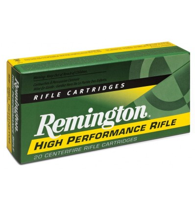 Munición metálica REMINGTON HIGH PERFORMANCE RIFLE - 243 Win. - 80 grains