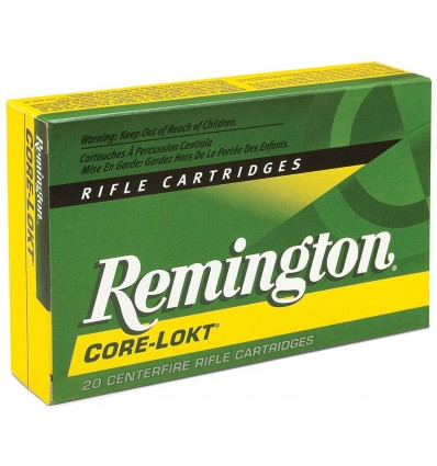 Munición metálica REMINGTON CORE-LOKT - 338 Win. Mag. - 225 grains