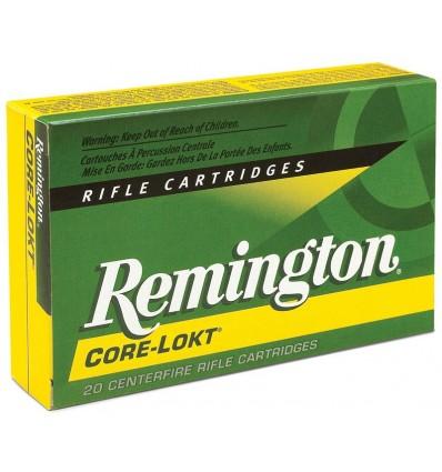 Munición metálica REMINGTON CORE-LOKT - 338 Win. Mag. - 250 grains