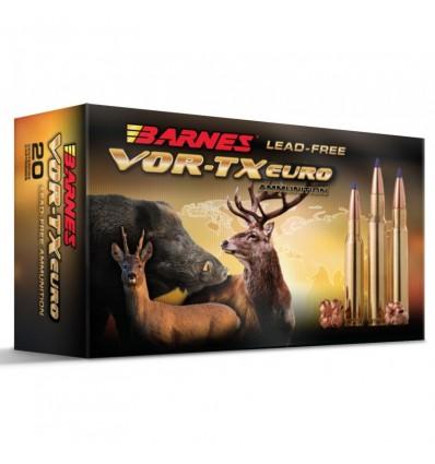 Munición metálica BARNES - VOR-TX EURO - 308 Win. - 168 grains